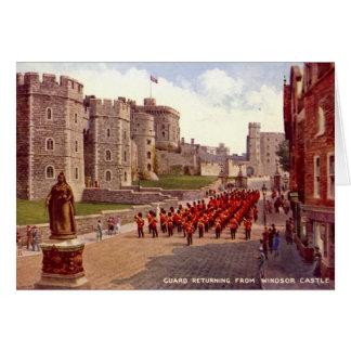 Carte d'anniversaire, château de Windsor