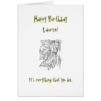 Carte d'anniversaire de cousin