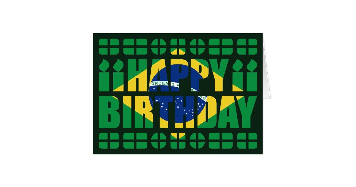 bon anniversaire brésilien