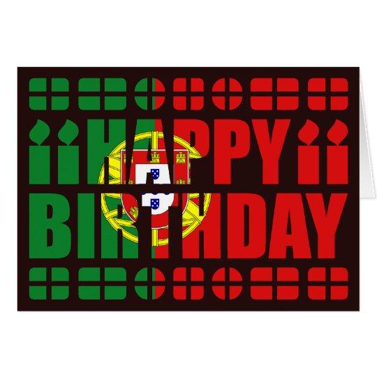 bon anniversaire portugais