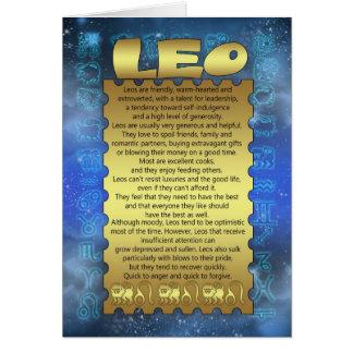 Carte d'anniversaire de Lion - carte