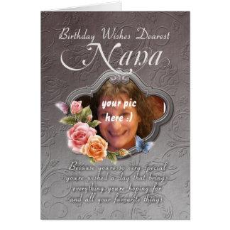 carte d'anniversaire de Nana - anniversaire votre