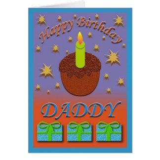 Carte d'anniversaire de papa
