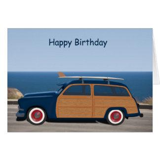 Carte d'anniversaire de Woodie