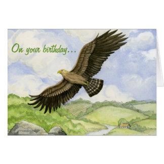 Carte d'anniversaire d'Eagle