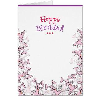 Carte d'anniversaire drôle presque chauve