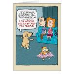 Carte d'anniversaire drôle : Règles de chien