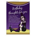 carte d'anniversaire gothique - thaughts d'anniver