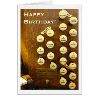 Carte d'anniversaire idéale d'organe