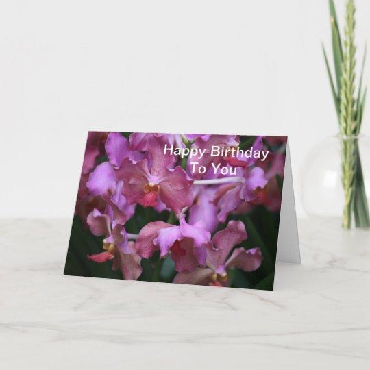 Anniversaire Orchidee Vignesenselle
