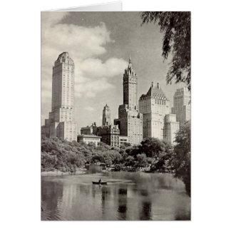 Carte d'anniversaire, New York City, Central Park