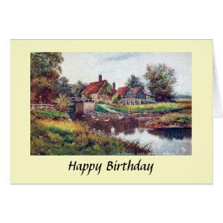 Carte d'anniversaire - Norfolk Broads