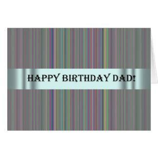 Carte d'anniversaire pour le papa de Special de s