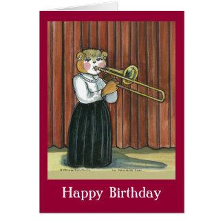 Carte d'anniversaire pour un musicien