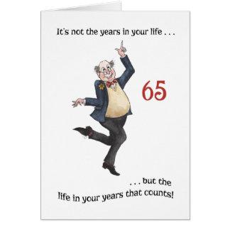Carte d'anniversaire spécifique à l'âge
