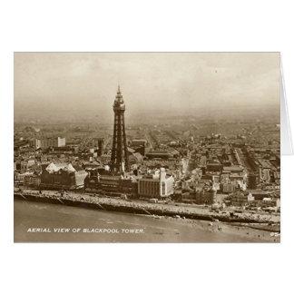 Carte d'anniversaire - tour de Blackpool