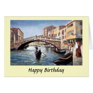 Carte d'anniversaire - Venise, Italie