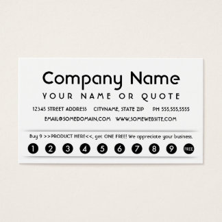 carte d'appréciation de client