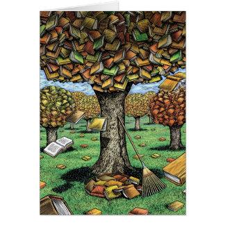 Carte d'arbre de livre