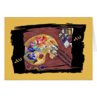 Carte d'art