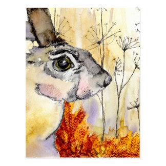 Carte d'art de lièvres (a426)