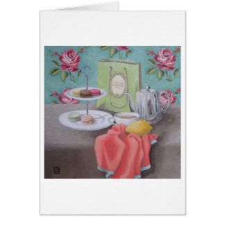 "Carte d'art ""de Matisse d'avec de De Macarons"""