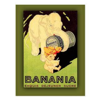 Carte d'art de sucre de Dejeuner de Banania Exquis