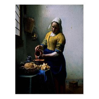 """Carte d'art - """"la domestique de cuisine"""" par"""