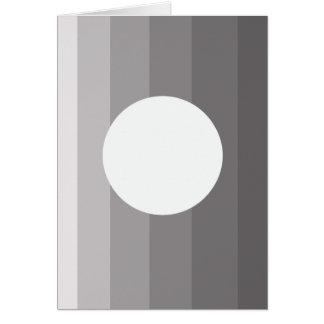 "Carte d'art moderne de ""continuation"" (5"" x 7"")"