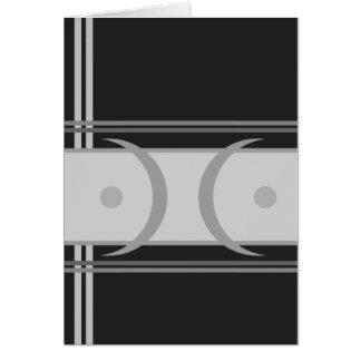 """Carte d'art moderne de """"vue"""" (5"""" x 7"""")"""
