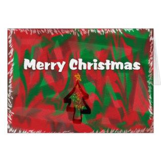 Carte d'artisan de Joyeux Noël