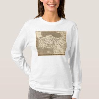 Carte d'Asie mineure par Arrowsmith T-shirt