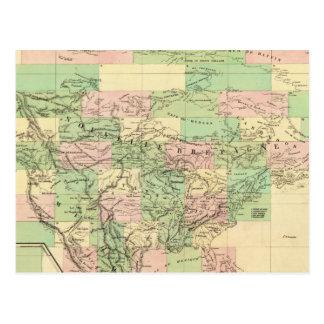 Carte d'Assemblée de l'Amérique du Nord