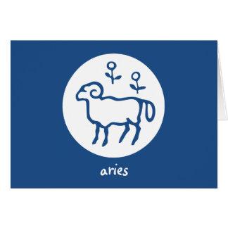 Carte d'astrologie d'horoscope de zodiaque de
