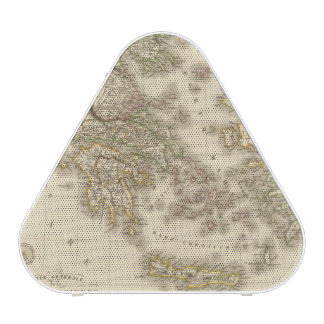 Carte d'atlas de la Grèce historique, Paris Haut-parleur Bluetooth