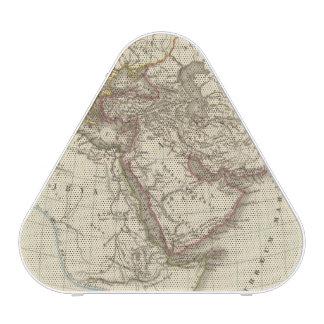 Carte d'atlas de Paris Haut-parleur Bluetooth