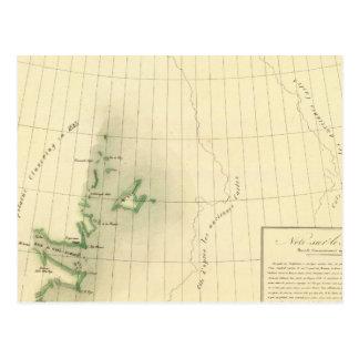 Carte d'atlas du Groenland