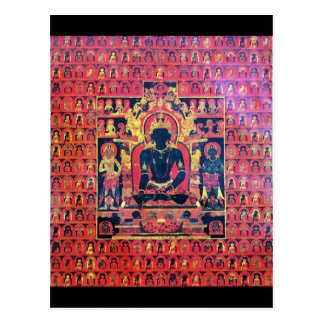 Carte d'autel d'Akshobya Bouddha