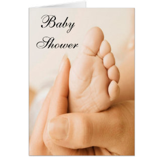 Carte de baby shower