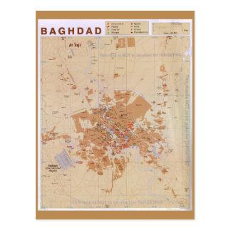 Carte de Bagdad, Irak (2003)