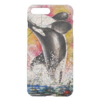 carte de baleine d'orque coque iPhone 7 plus