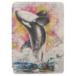carte de baleine d'orque protection iPad air