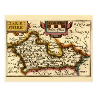 """Carte de """"Barkshire"""" le comté de Berkshire, Carte Postale"""