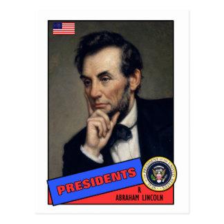 Carte de base-ball d'Abraham Lincoln