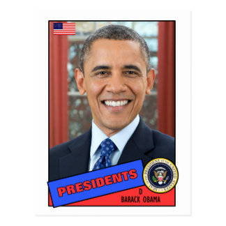 Carte de base-ball de Barack Obama