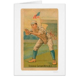 Carte de base-ball de JIM Donohue 1887