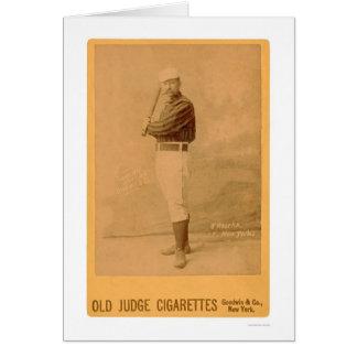 Carte de base-ball de JIM O'Rourke 1889