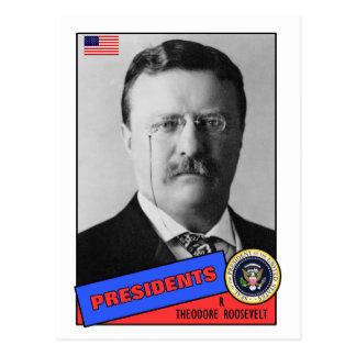 Carte de base-ball de Theodore Teddy Roosevelt