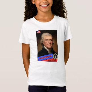Carte de base-ball de Thomas Jefferson T-Shirt