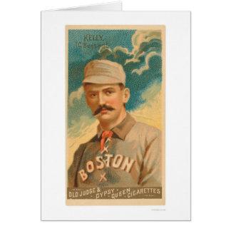 Carte de base-ball du Roi Kelly 1888